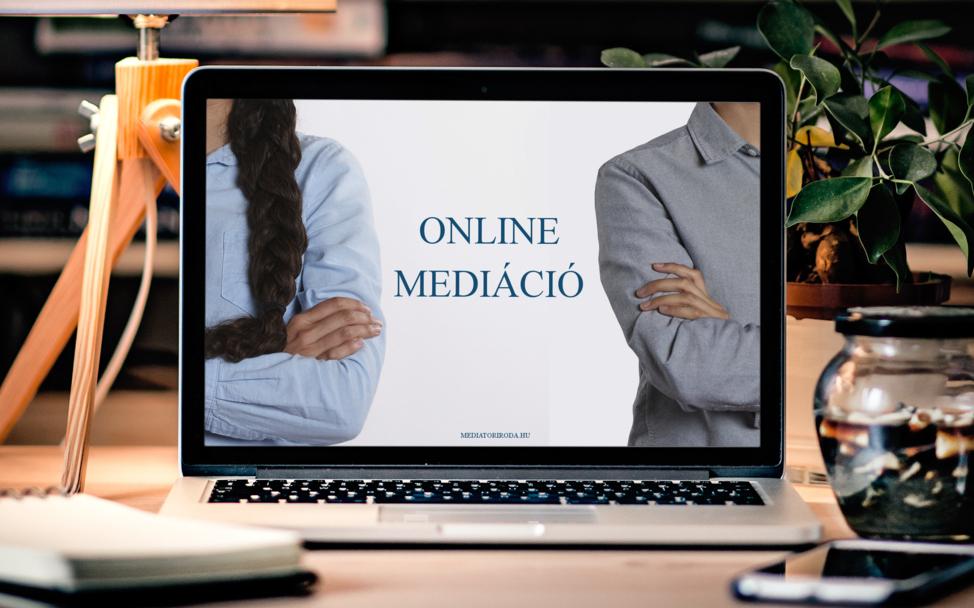 online mediáció